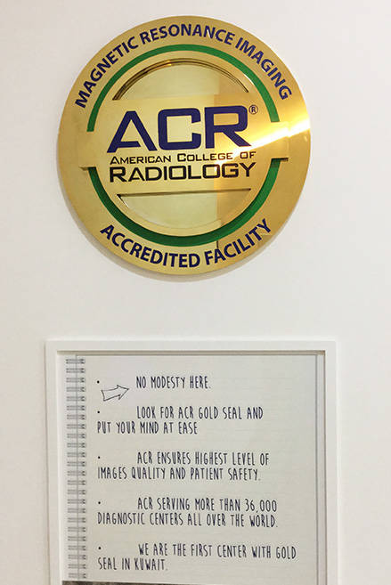 accreditation american college of radiology