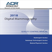 ACR Digital Mammography QC Manual